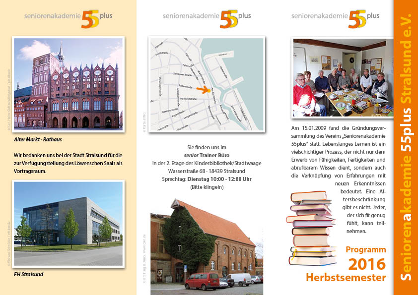 Aktiv im alter seniorenakademie 55 plus stralsund for Boden preview herbst 2016